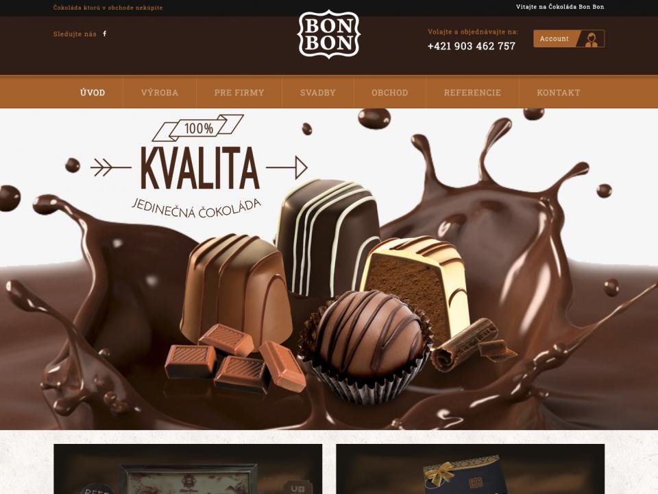 Čokoláda BonBon