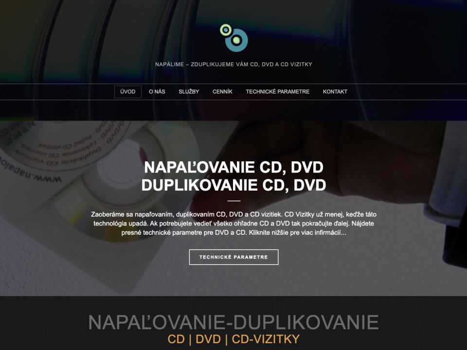 Napalovanie - kopírovanie CD